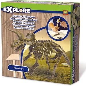SES triceratops uithakken