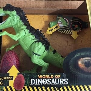 Toi Toys World of dinosaurs Dinosaurus (30cm) met licht en geluid + ei