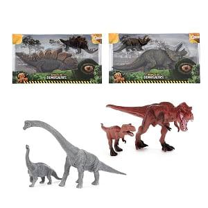 dinosaurus speelgoed dinomam met kind
