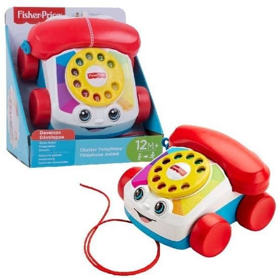 Peuterspeelgoed fisher price telefoon