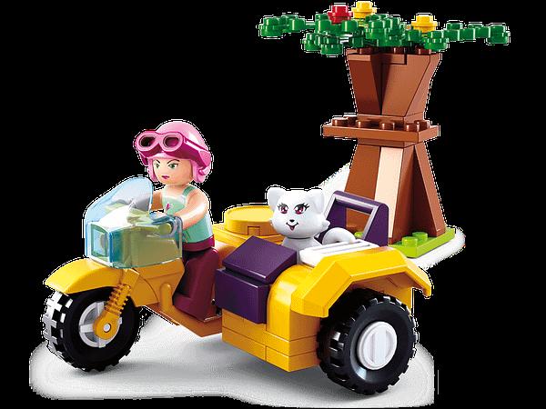 meisjes speelgoed sluban zijspan