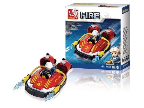 Sluban Fire hovercraft