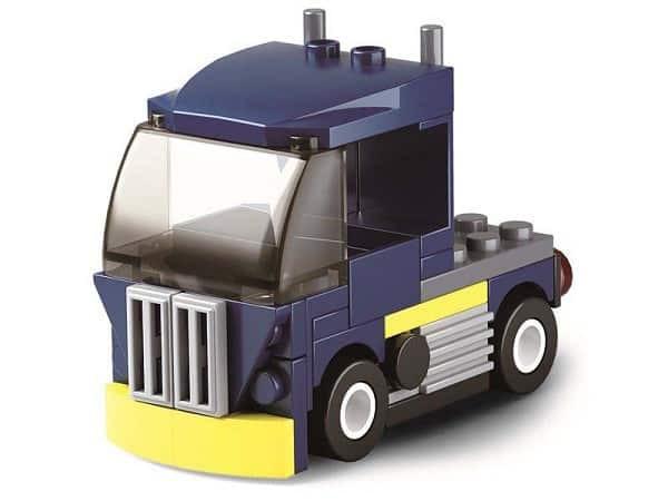 Sluban builder Voertuigen - Blauwe truck C