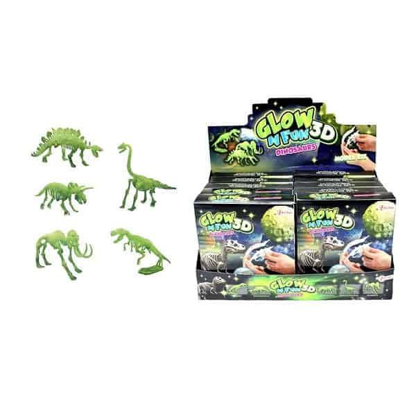 dinosaurusspeelgoed glow in the dark dino
