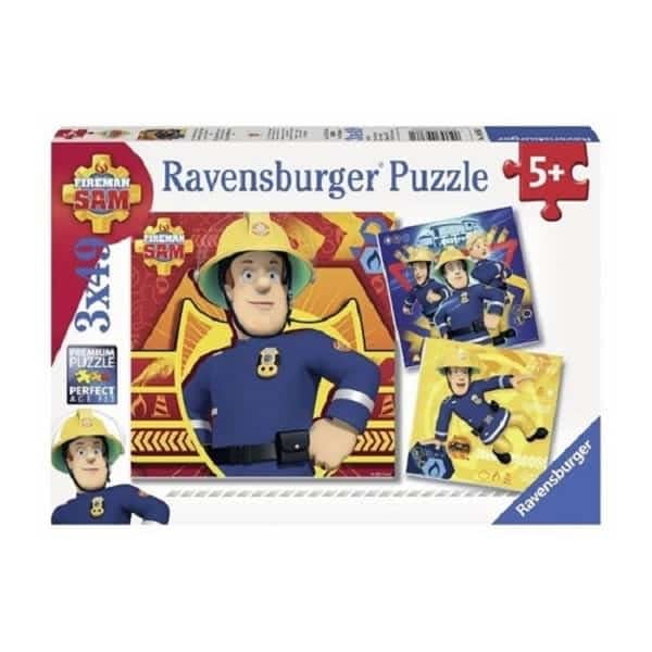 peuterspeelgoed brandweerman sam puzzel